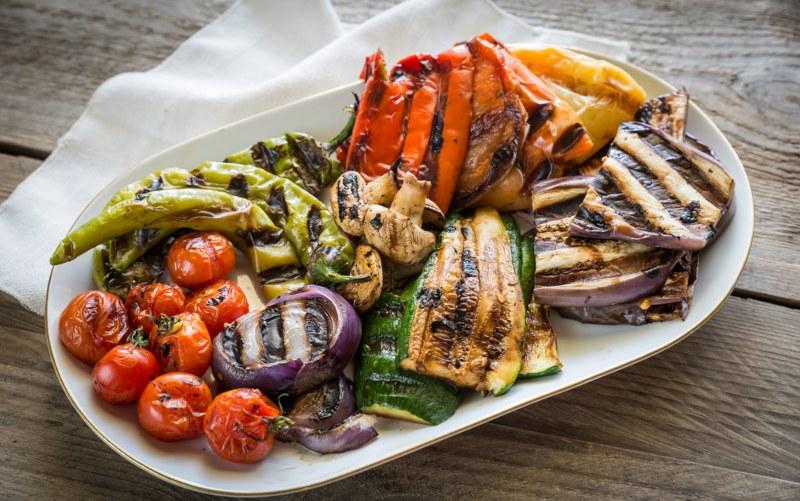 Grilled vegetables