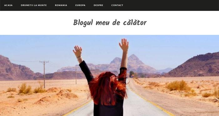 Blogul meu de calator