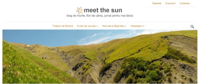 Meet the sun