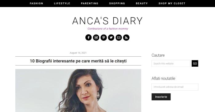 Ancas Diary