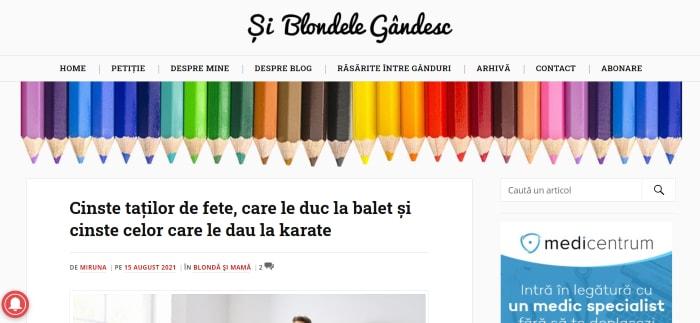 Si Blondele Gandesc