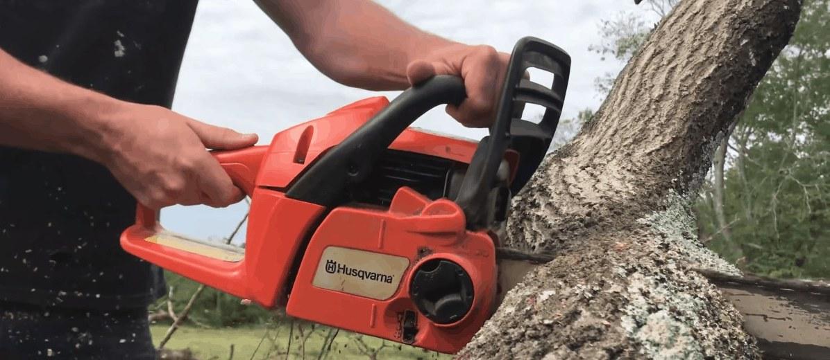 chainsaw handle